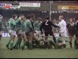 Ирландия : Новая Зеландия ( тест матч 1974 год)